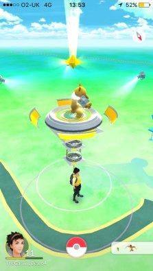 Gym Pokemon GO